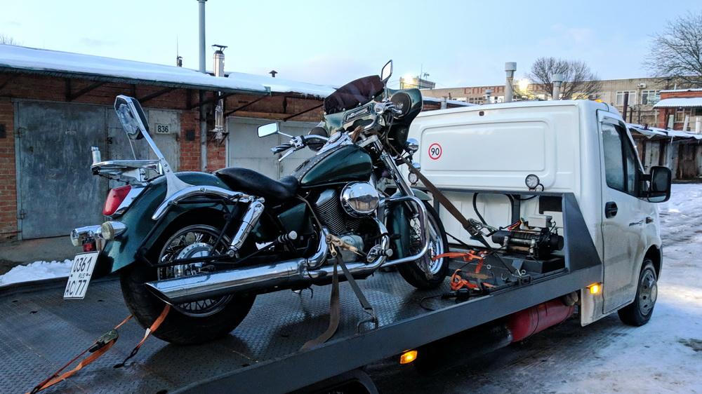 эвакуатор для мотоциклов в краснодаре