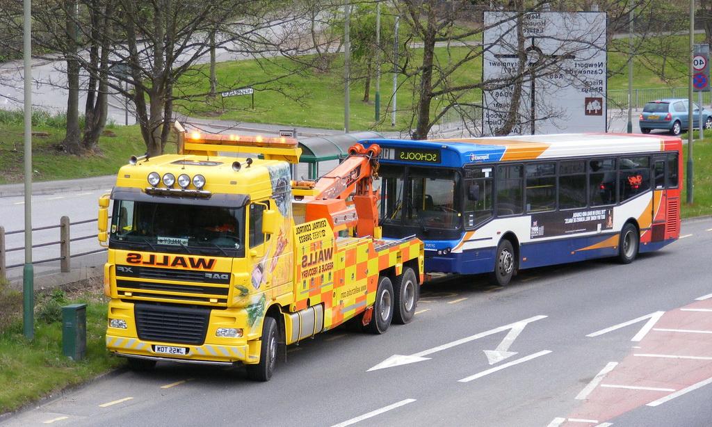 Эвакуатор автобусов Краснодар