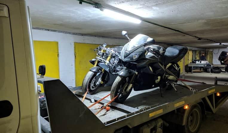 Вызвать эвакуатор для мотоцикла