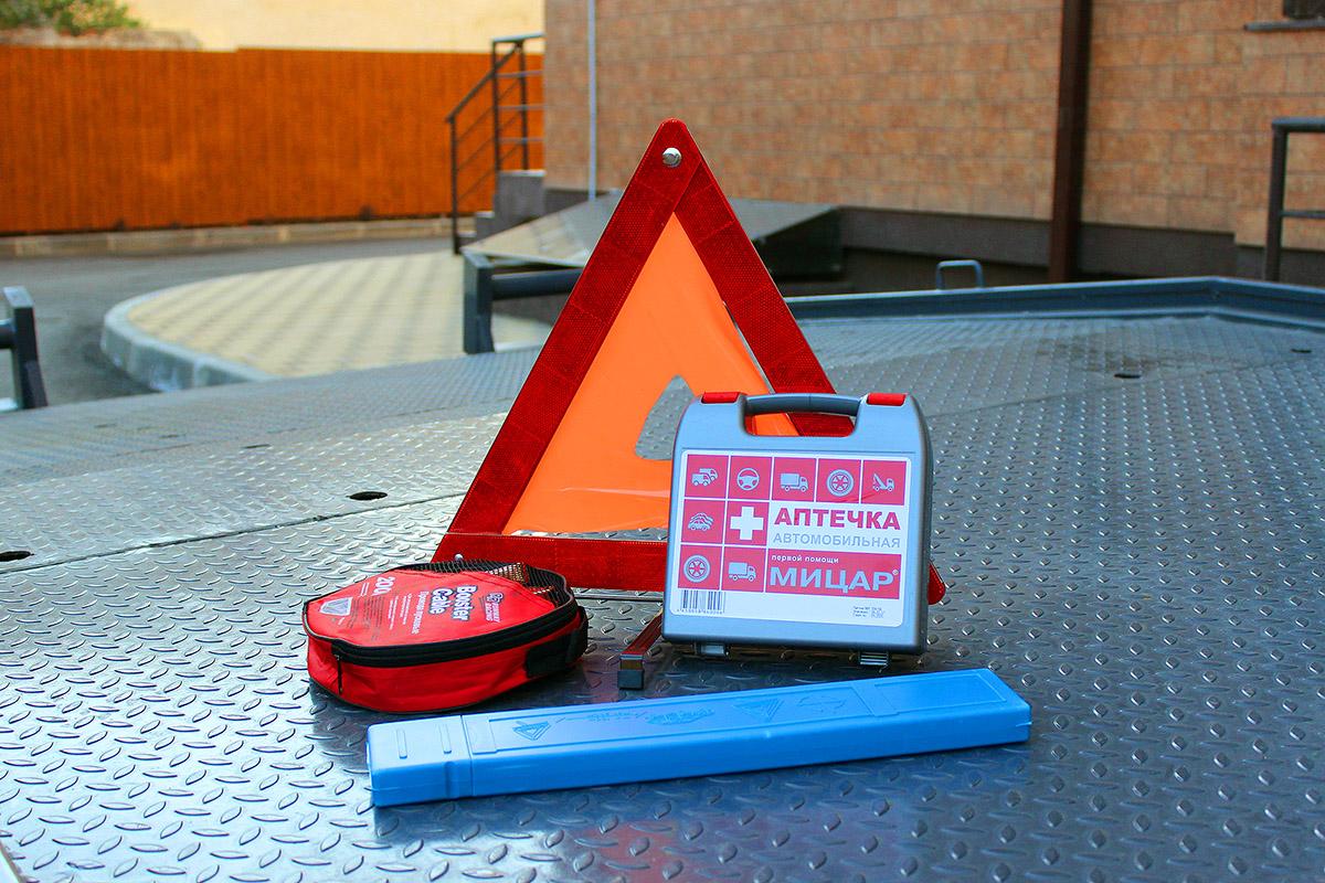 Средства безопасности эвакуатора
